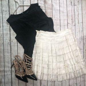 Reiss Ivory Skirt